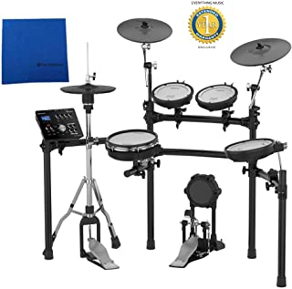 Roland TD-25K V-Drums Electronic Drum Set with Microfiber and Free EverythingMusic 1 Year Extended Warranty