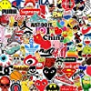 Sticker Pack Cool Stickers 100PCS, Durable, Waterproof, Aesthetic, Trendy Sticker Decals for Teens, Water Bottles Travel Case Sticker Door Laptop Luggage Car Bike Bicycle #5