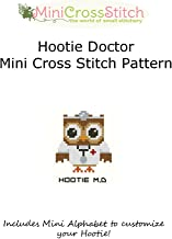 Hootie Doctor Mini Cross Stitch Pattern
