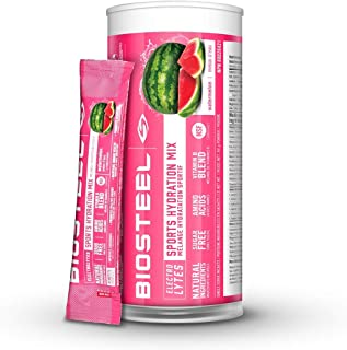 BioSteel Hydration Mix, Naturally Sweetened with Stevia, Watermelon, 12 To-Go Packets