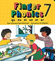 Finger Phonics Book 7: Qu, Ou, Oi, Ue, Er, Ar/Board Book (Jolly Phonics: Finger Phonics)
