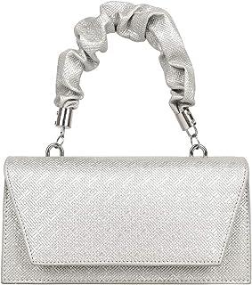 Damen Umhängetaschen, Damen Achsel Tasche Mode Freizeit All-Match frische reine Farbe Zahnstocher Muster Pu Leder Special ...