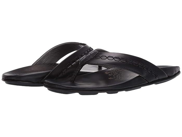 Honoli'i  Shoes (Black/Black) Men's Sandals