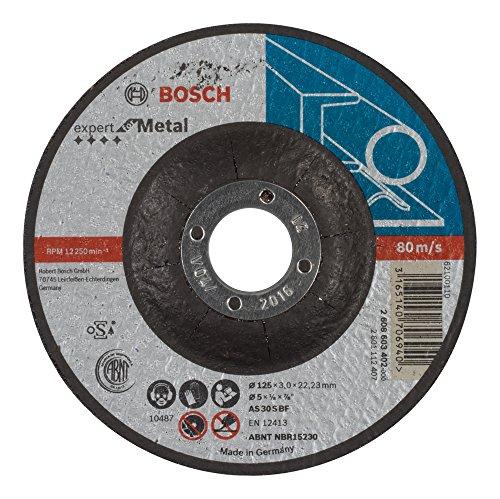 Bosch 2608603402 Disque à tronçonner à moyeu déporté expert for metal AS 30 S BF 125 mm 3,0 mm