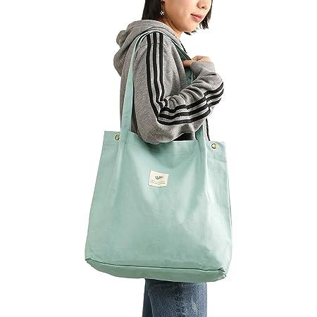 Cloele Damen Umhängetasche für Frauen Mädchen, Wiederverwendbare Handtasche mit Innentasche, Damen-Schultertaschen Shopper für Uni Arbeit Reisen und Einkaufen