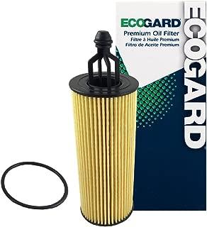 ECOGARD X10040 Cartridge Engine Oil Filter for Conventional Oil - Premium Replacement Fits Jeep Grand Cherokee, Wrangler, Cherokee / Dodge Grand Caravan, Charger, Journey, Durango, Challenger