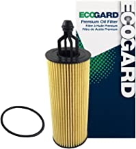 ECOGARD X10040 Cartridge Engine Oil Filter for Conventional Oil - Premium Replacement Fits Jeep Grand Cherokee, Wrangler, Cherokee / Dodge Grand Caravan, Charger, Journey, Durango, Challenger