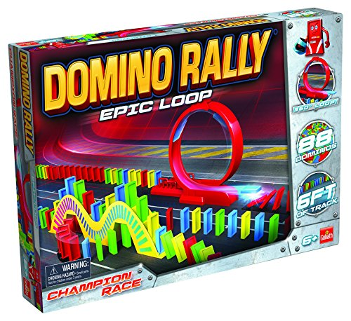 Goliath Domino Rally Epic Loop - Dominoes for Kids - STEM-Based Learning Set