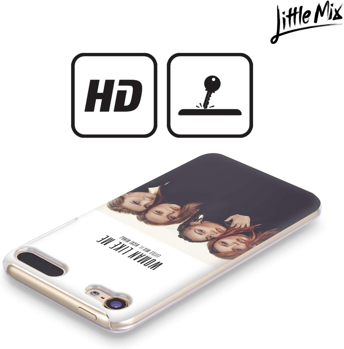 Official Little Mix Jesy Photography Hard Back Case Compatible for Apple Touch 6th Gen//Touch 7th Gen