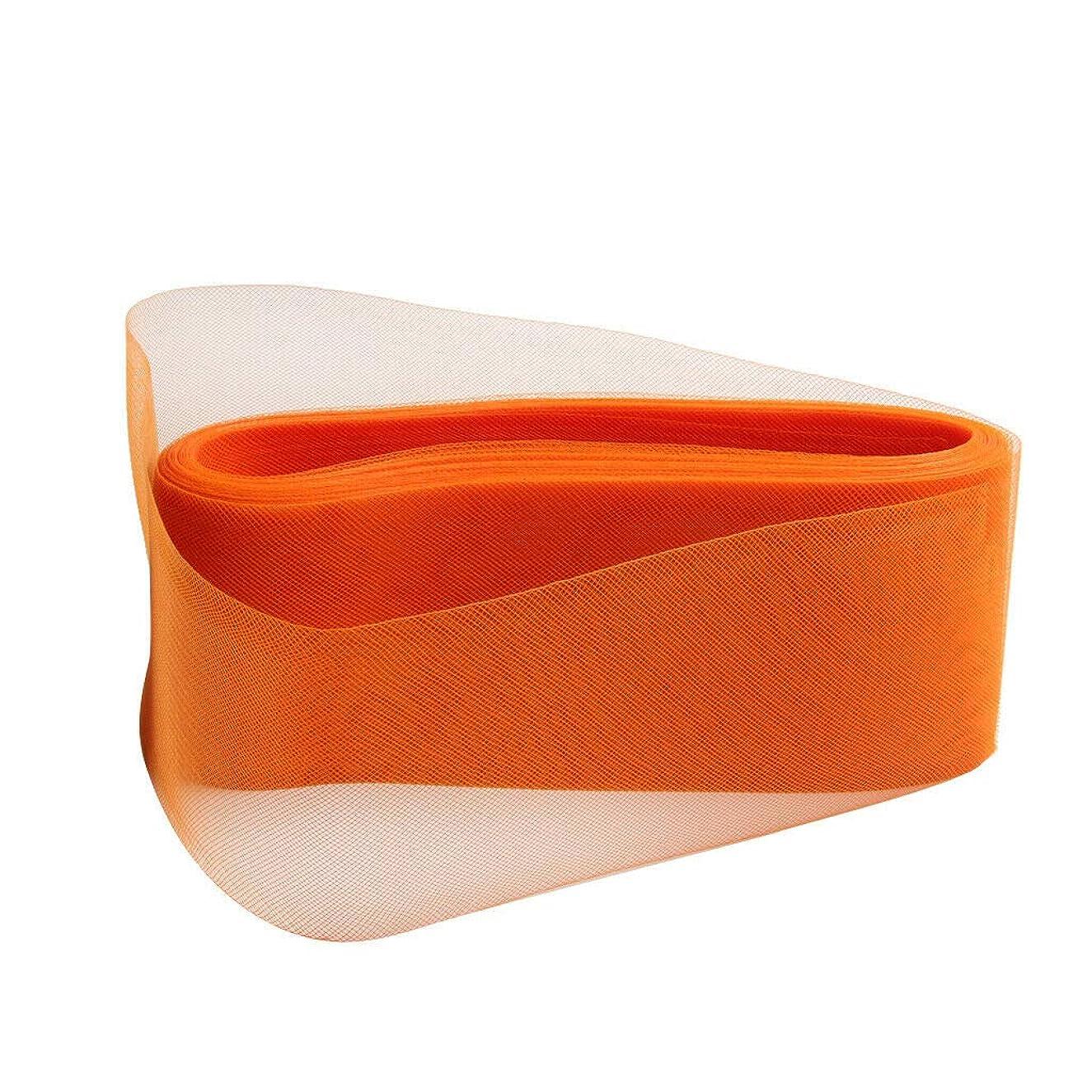 Crinoline Flexible Sinamy Crinoline Horse Hair Braid DIY for Fascinators Hat | Color - Orange