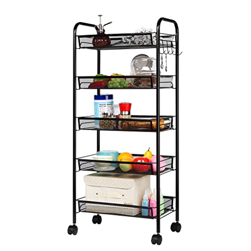 Metal Storage Carts with Wheels: Amazon.com