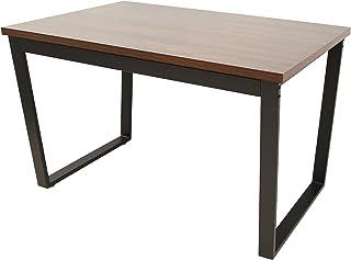 Marque Amazon - Movian Kyyvesi Table de salle à manger, 120,5x71,4x76cm, Finition effet noyer