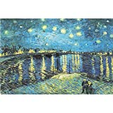 CHengQiSM Jigsaw Puzzles(1000/1500/2000 Pieces Puzzles) Intellectual Game for Adults and Kids, Learning and Education Toys (2000Starry Night Over The Rhone)