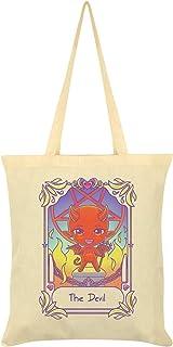 Deadly Tarot Kawaii The Devil Tote Bag Cream 38x42cm