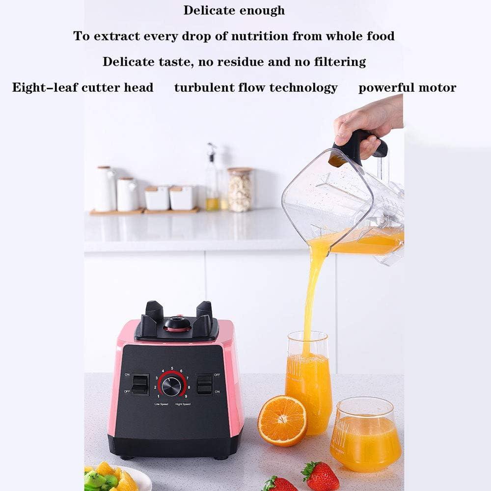 Presse-Agrumes Orange Fruits Électrique Citron Mixeur Milk Lavable, Presse-Agrumes Multifonctionnel Ménage Grande Capacité Fruits Petit Jus FritRoseÉlectrique. Blue.