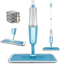 MEXERRIS Microfiber Spray Mop for Hardwood Floor Cleaning - Wet and Dry, Microfiber Dust Mop with 410 Milliliter 360 Degre...