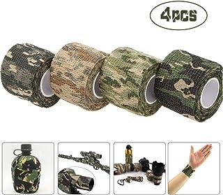 Camuflaje ACU Namvo Autoadhesivo no Tejido de Camuflaje Envoltura Rifle Arma de Caza de Camuflaje Cinta Stealth 4.5M