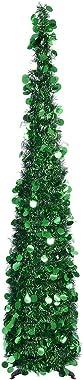 Neusky - Albero di Natale artificiale Slim, 150 cm