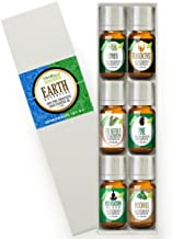 Healing Solutions Essential Earth Set 100% Pure, Best Therapeutic Grade Essential Oil Kit - 6/10mL (Cypress, Frankincense, Fir Needle, Pine, Meditation, and Patchouli)