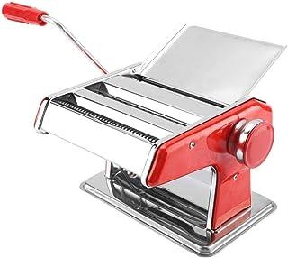 Salinr パスタマシン 製麺機 そば打ち機 手動式 パスタメーカー 多用途 そば うどん ラーメン 中華麺 ジューサー圧力製造機 ポータブル手動式 ステンレス 押し出し式 1個 家庭用 家製パスタ そば打ち機 蕎麦 ラーメン うどん そば パスタ 水洗い可能