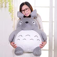 XXXVV My Neighbor Totoro Plush Doll Plush Animal Toy Throw Pillow Decorative Holiday Birthday Kid Girlfriend Gift,45CM