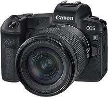 Canon EOS R aparat systemowy, pełnoklatkowy, z obiektywem RF 24-105 mm, F4-7.1 IS STM (bezlusterkowy, 30,3 MP, 8,01 cm...