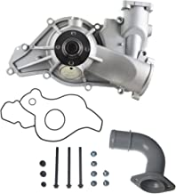 A-Premium Engine Water Pump for Ford E-350 E-450 E-550 F-250 F-350 F-450 F-550 Super Duty Excursion F59 V8 7.3L Turbo Diesel OHV Engine