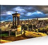 islandburner Bild Bilder auf Leinwand Edinburgh Schottland