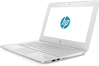 2017 HP Stream 11.6 inch Laptop, Intel Celeron Core up to 2.48GHz, 4GB RAM, 32GB SSD, 802.11ac WiFi, Bluetooth, Webcam, USB 3.0, Windows 10 Home, Snow White (Renewed)