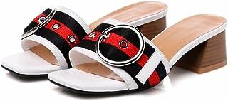 Rff Amazon esSandalias Shoes Blancas Tacon Women's Zapatos De 1c3KF5uTlJ