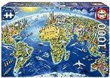 Educa Serie Miniature. Símbolos del Mundo. Puzzle de 1000 Piezas pequeñas. Ref. 19036