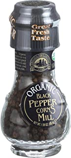 Drogheria & Alimentari organic black pepper corns mill 1.58 oz (pack of 6)