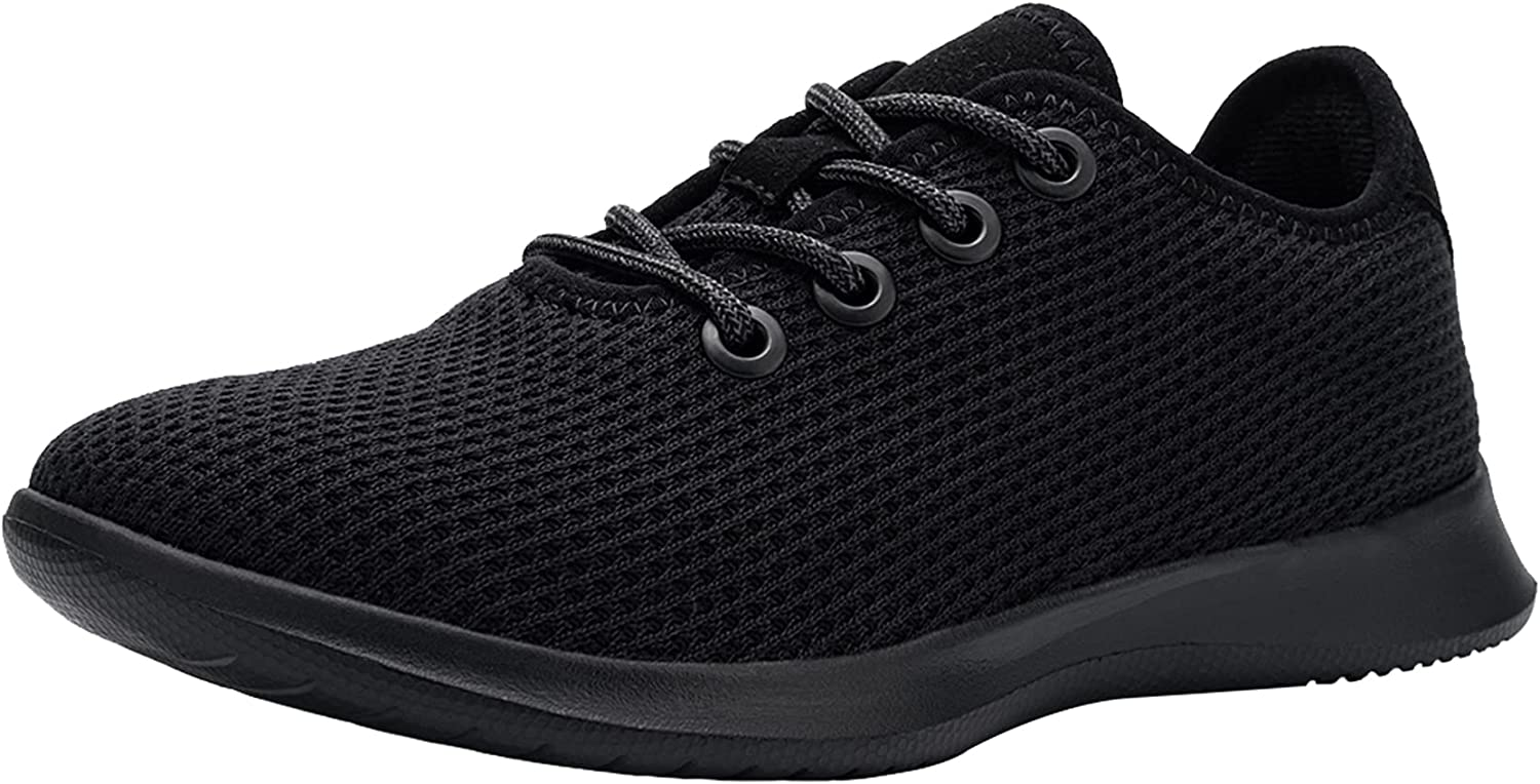 DYKHMATE Women's Walking Shoes Breathable Lightweight Casual Running Tennis Shoes Fashion Comfortable Mesh Training Shoes