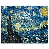 JUNIWORDS Poster, Vincent van Gogh, Sternennacht, 25 x 20