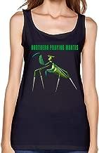 Qincent Women Tank Top Casual Tshirt Northern Praying Mantis