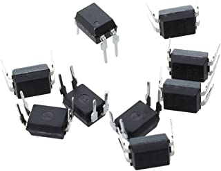 H11AA1SR2M 50 Items Optocoupler AC-in 1-CH Transistor with Base DC-Out 6-Pin PDIP SMD White T//R