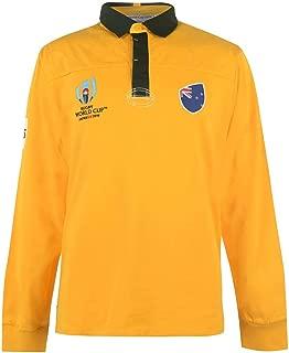 Australia Rugby World Cup 2019 Team Jersey Mens Yellow Fan Top Shirt Sportswear