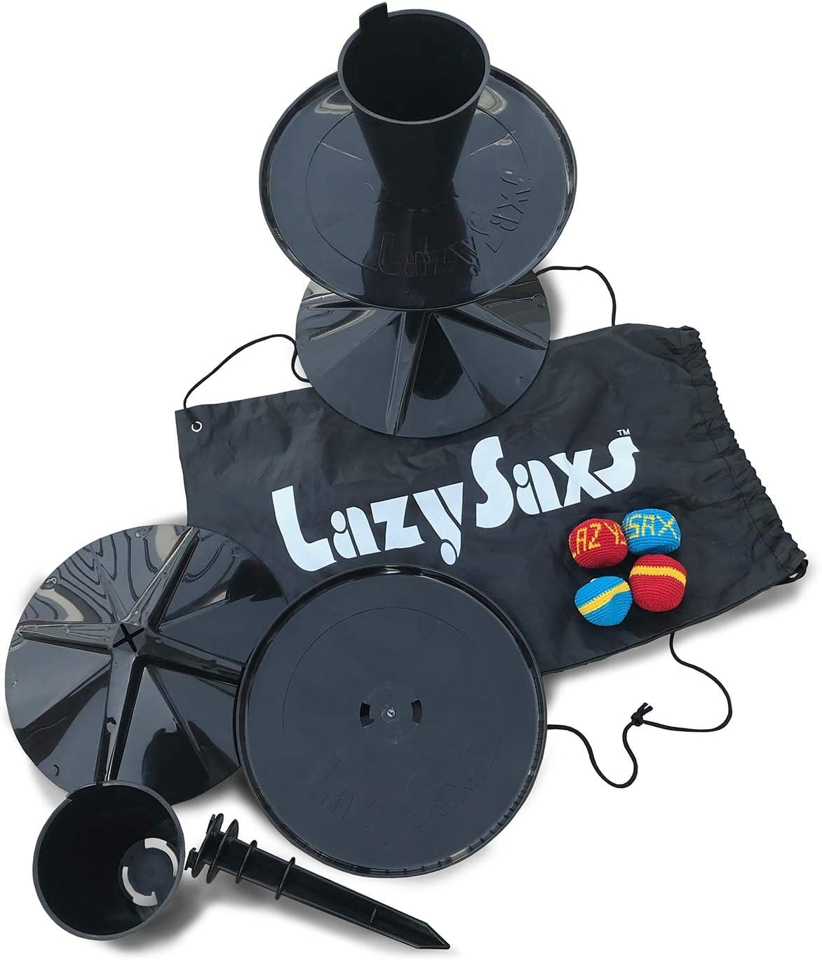 Manufacturer regenerated product LazySaxs Sitting Game for The Park Tailgate free Ba Beach Camping