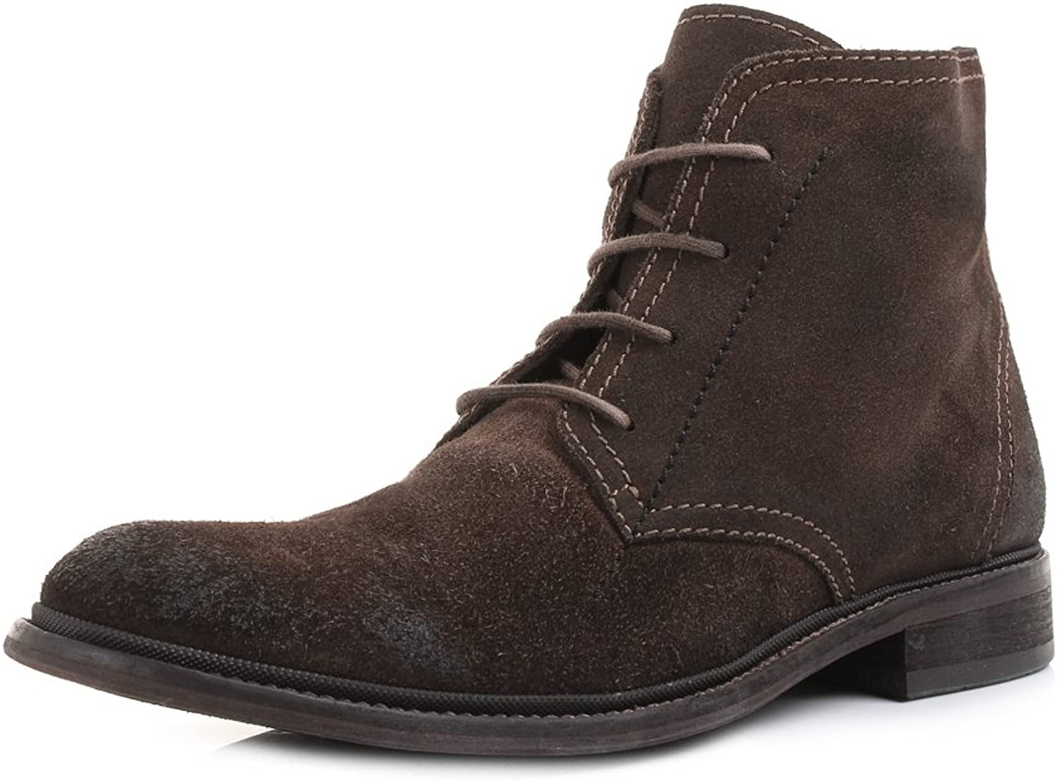 Fly London Hobi - Washed Suede Coffee (Brown) Mens Boots