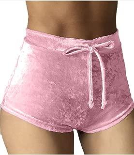 Best light pink high waisted shorts Reviews