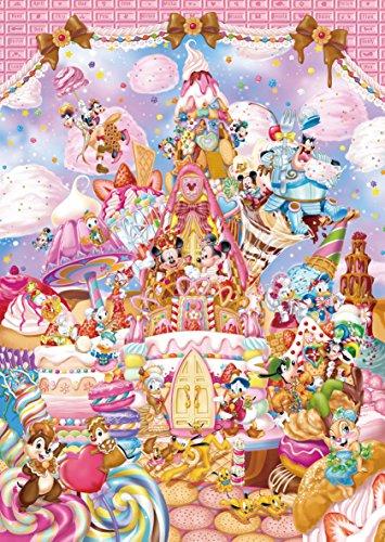 266ピース ジグソーパズル ディズニー ミッキーのスイートキングダム ぎゅっとシリーズ 【ピュアホワイト】(18.2x25.7cm)