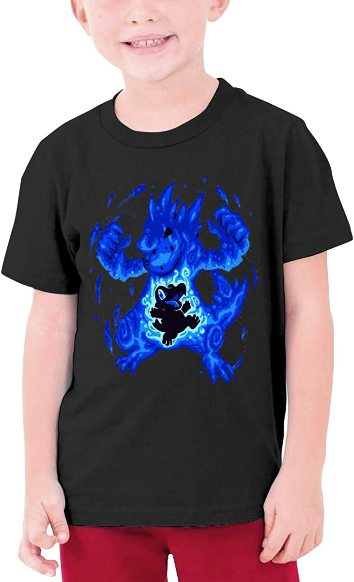 Pokiamon Sarah Richford Boy&Girl Outdoor Short Sleeve Tee Child Unisex T-Shirt Top Black