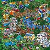Ingooood- Jigsaw Puzzles 500 Pieces Adult- Detective Series (Go Camping Together)