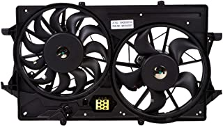 MYSMOT Engine Cooling Fan Assembly For Ford Focus 2000-2004 1S4Z8C607AA,1S4Z8C607AC,1S4Z8C607AD