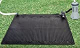 Intex 28685E Above Ground Swimming Pool Water Heater Solar Mat, Black (2 Pack)...