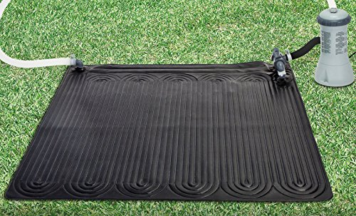 Cheapest Price! Intex 28685E Above Ground Swimming Pool Water Heater Solar Mat, Black