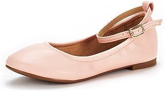 DREAM PAIRS de Zapatos Planos para niños/niños pequeños/niños Grandes/Suela Fina-k para niña
