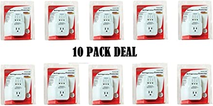 AC Voltage Protector Brownout Surge Refrigerator 1800 Watts Appliance 10 PACK