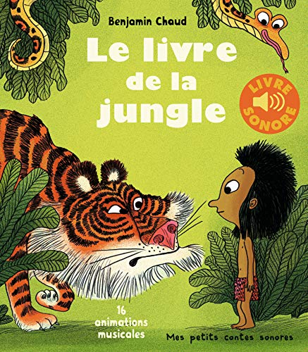 Le livre de la jungle (livre sonore)- Dès 3 ans