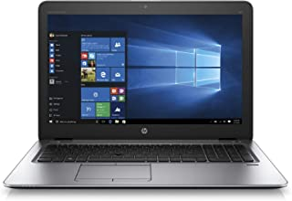 "HP Elitebook 850 G3 Intel i5 6300u 2.40Ghz Processor 8Gb Ram 128Gb SSD 15.6"" Display Webcam Windows 10 (Renewed)"